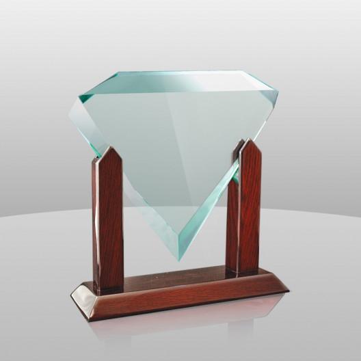 Diamond Award on Piano Finish Rosewood Stand